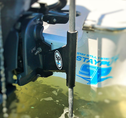 STICK IT SHALLOW WATER ANCHOR PIN STARBOARD RIGHT MOTOR MOUNT